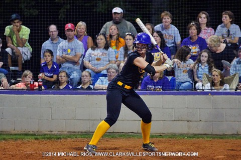 Clarksville High Softball falls to Dickson County 5-1. (Michael Rios - Clarksville Sports Network)