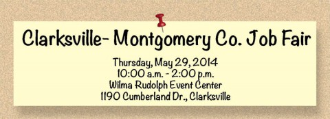 Clarksville-Montgomery County Job Fair May 29th