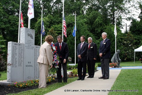 Clarksville-Montgomery County Memorial Day Ceremony