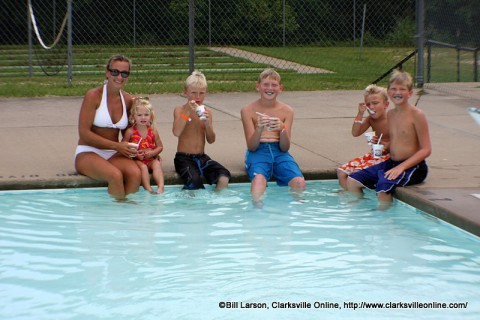 City of Clarksville Swimming Pools to open Saturday, May 23rd.