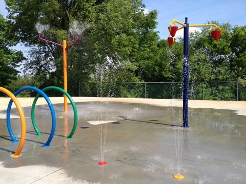 Clarksville's Edith Pettus Park Splash Pad