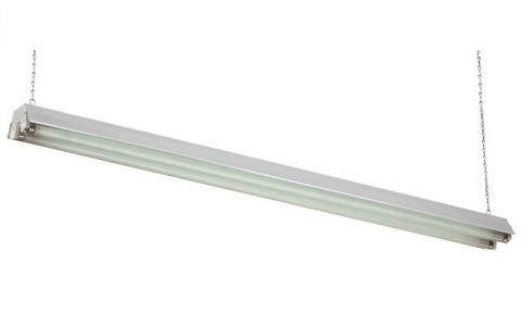 Commercial Electric 2-Lamp Shop Light recalled due to Fire Hazard.