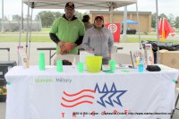 The Tricare booth at the Blanchfield Army Community Hospital's Community Health Fair part of the 2014 Week of the Eagles