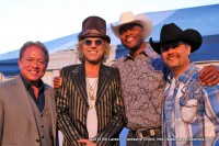 John Rich (Right), Cowboy Troy, Big Kenny, Ronnie Barrett (left)