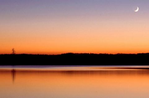 Sunset at LBL. (Land Between the Lakes)