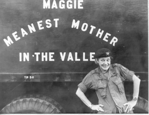 """COL Maggie"" Raye"