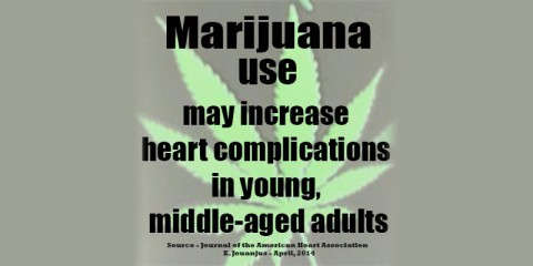 American Heart Association says Marijuana use may increase Heart Complications in young, middle-aged Adults