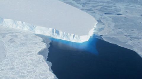 Thwaites Glacier. (NASA)