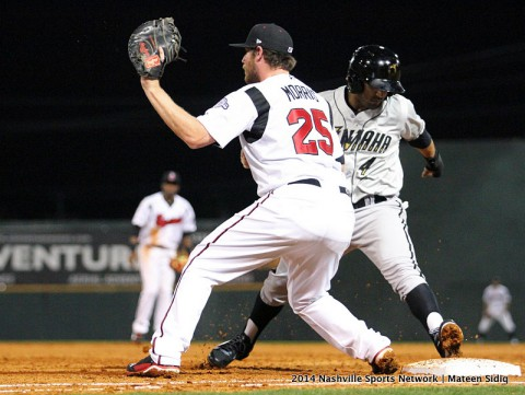 Nashville Sounds defeat Omaha 5-4 on walk-off home run. (Mateen Sidiq - Nashville Sports Network)