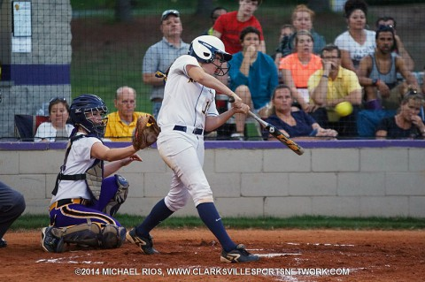 Northeast Softball gets 2-1 victory over Clarksville High.