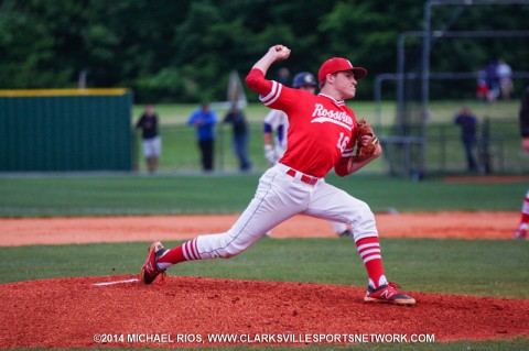 Rossview Baseball defeats Clarksville High behind Kevin Kane to win Region 5-AAA Title. (Michael Rios -  Clarksville Sports Network)