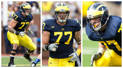 Taylor Lewan taken in the 11th round by the Tennessee Titans.