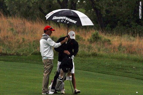 Austin Peay's Marco Iten at NCAA Golf Championship. (APSU Sports Information)