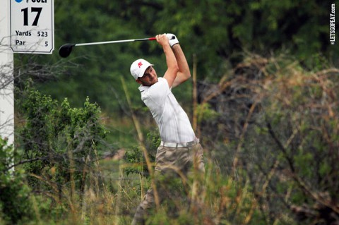 Austin Peay's Marco Iten at the NCAA Golf Championships. (APSU Sports Information)