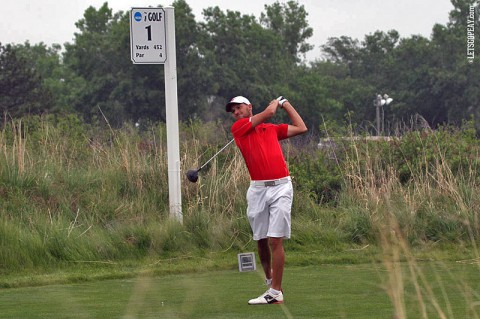 Austin Peay Men's Golf Marco Iten at NCAA Championships. (APSU Sports Information)