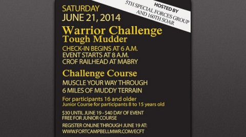 Second Annual Eagle Challenge Fitness Tour Warrior Challenge