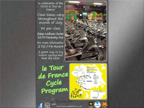 Celebrate le Tour de France with Estep Wellness Center
