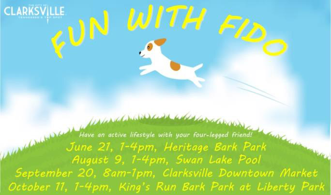 Clarksville Parks And Recreation To Host Fun With Fido Event For Dog Lovers June 21st