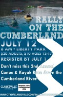 2nd Annual Rally on the Cumberland Canoe and Kayak Race