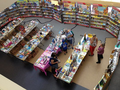 Scholastic Book going on this week at the Clarksville-Montgomery County Public Library.