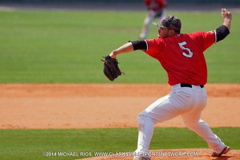 APSU's Alex Robles named to NCBWA Freshman All-America Team. (Michael Rios Clarksville Sports Network)