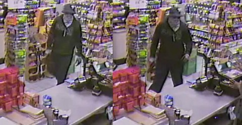Clarksville Police are looking for the suspect in this photo for the Robbery of the BP Station on Fort Campbell Boulevard.