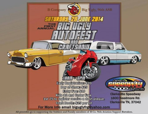 1st Annual Big Ugly Autofest and Craftshow