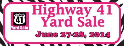 Highway 41 Yard Sale