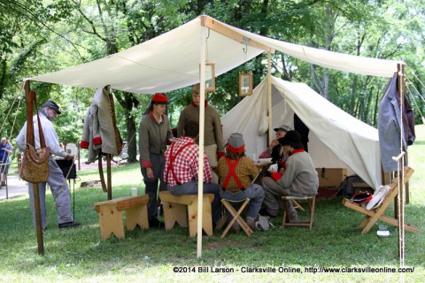 The Porter's Battery Encampment