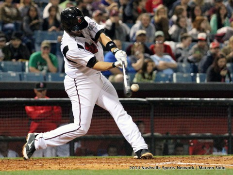 Nashville Sounds fall to Memphis Redbirds 7-5, remain in first place (Mateen Sidiq Nashville Sports Network)