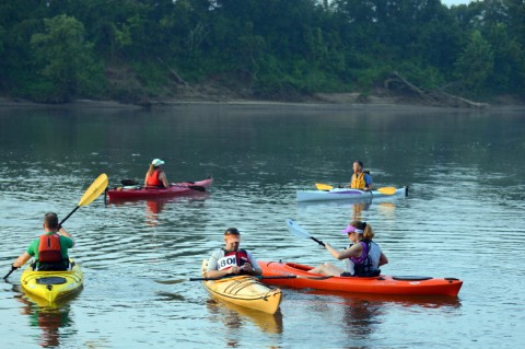 Registration continues for Clarksville Parks and Recreation 2nd Annual Rally on the Cumberland Canoe and Kayak race.