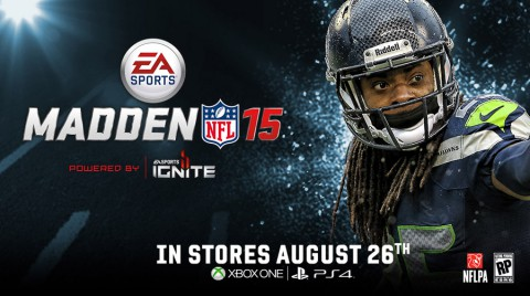 Richard Sherman announced as Madden NFL 15 cover athlete. (Business Wire)