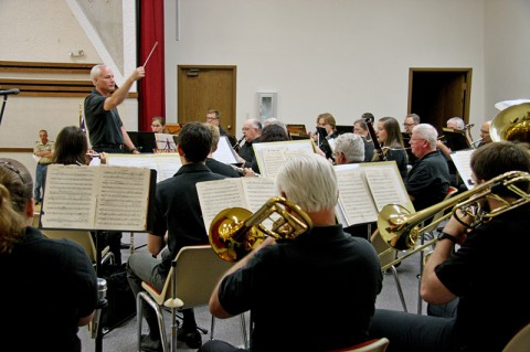 The Cumberland Winds Concert Band performed at the American Dream Celebration in Hopkinsville, KY, June 14th.