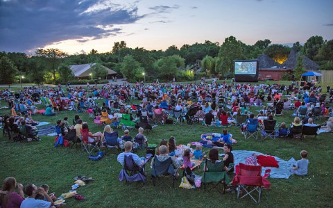 "Nashville Zoo's Zoovies to show ""Toy Story"" Friday,  May 15th. (Amiee Stubbs)"