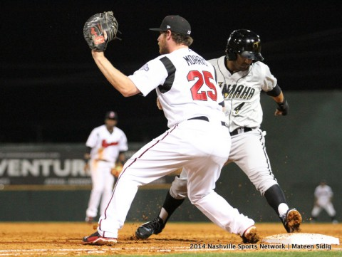 Nashville Sounds open home stand Friday night at Greer Stadium (Mateen Sidiq Nashville Sports Network)