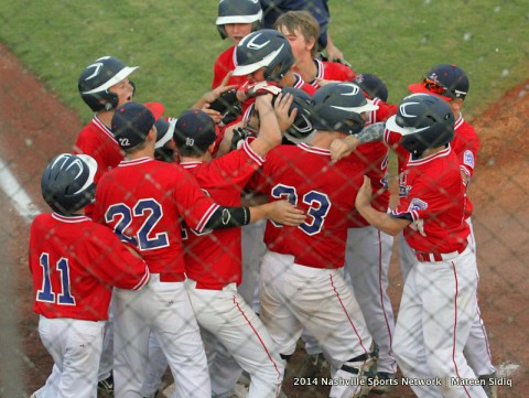 South Nashville defeats Karns at Little League Championship. (Mateen Sidiq - Nashville Sports Network)