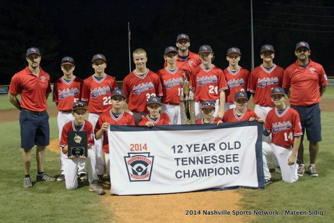 South Nashville defeats Karns 4-1 to repeat as Tennessee State Little League Champions. (Mateen Sidiq - Nashville Sports Network)