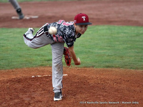 Tullahoma pulls away from Smith County 18-8 at Little League State Championship. (Mateen Sidiq - Nashville Sports Network)