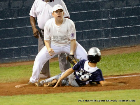 Obion County has big inning to get past Spring Hill in Little League State Tournament. (Mateen Sidiq - Nashville Sports Network)