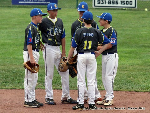 Karns too much for Clarksville National at Tennessee Little League Championship held in Clarksville. (Mateen Sidiq - Nashville Sports Network)