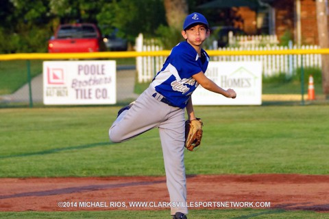 Johnson City defeats Smith County at Tennessee State Little League Championship. (Michael Rios - Clarksville Sports Network)