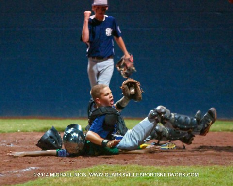 Spring Hill eliminates Northwest from Tennessee Little League Championship 19-8. (Michael Rios - Clarksville Sports Network)