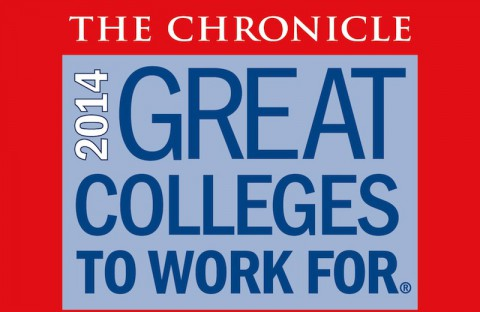 "Austin Peay State University named ""Great College to Work For"" in 2014."