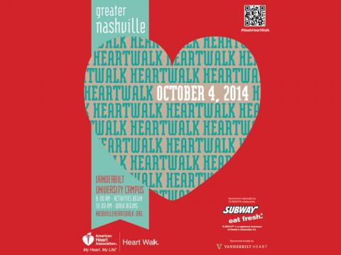 2014 Greater Nashville Heart Walk