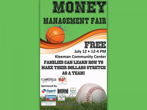 3rd Annual Money Management Fair to be held Saturday, July 12th, 2014