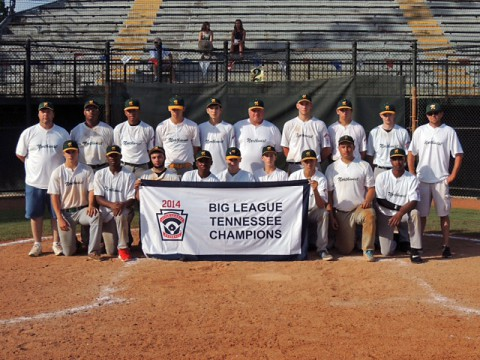 Northwest Big League State Baseball Champions.