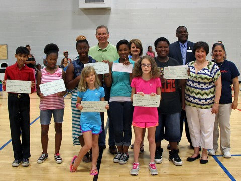 Clarksville Parks and Recreation's Summer Youth Program participants won cash prizes for developing the best fictional business plan.