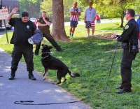 "The K-9 team will be at the Deputy David ""Bubba"" Johnson Community Outreach Day 2014."