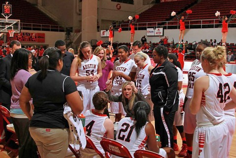 Austin Peay Women's Basketball. (APSU Sports Information)