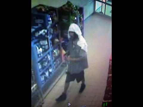 Aldi Robbery Suspect photo.